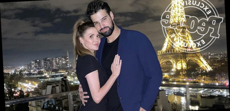 Carly Steel Is Engaged! See the TV Host's Proposal Photos in Front of the Eiffel Tower