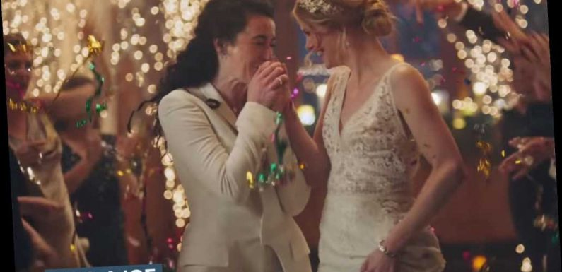 Hallmark Channel Pulls Commercials Featuring Brides Kissing After 'Distracting' Controversy