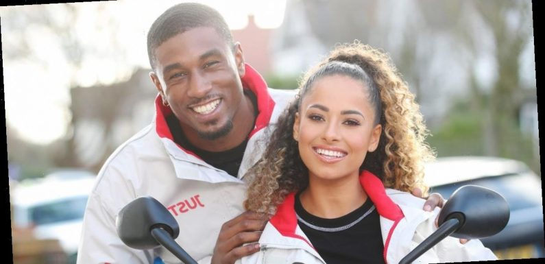 Amber Gill hints she's dating Ovie Soko as she rules out his Love Island return
