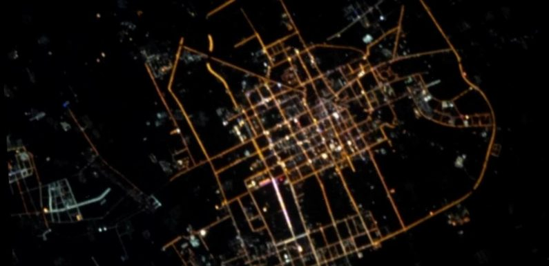 Conspiracy ISS being used as 'spy satellite' as images of Chinese city emerge