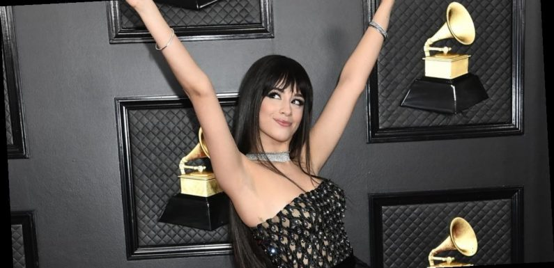 Camila Cabello Looks Like She's the Life of the Party in Her Sexy Grammys Gown