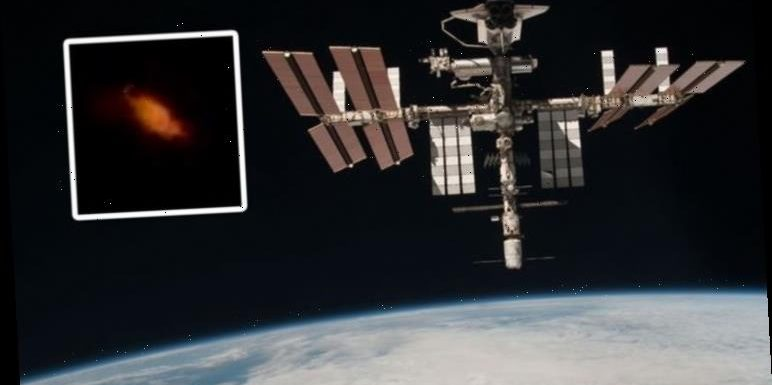 ISS live feed shock: NASA interrupted by space anomaly 'on fire' during stream
