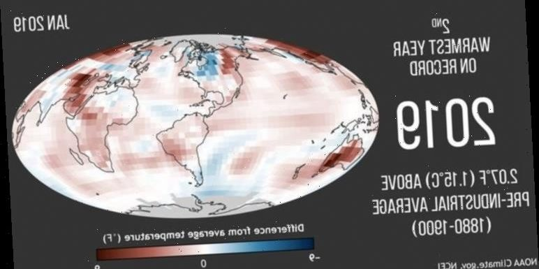 Climate change: Last decade officially hottest on record and 'we're running out of time'