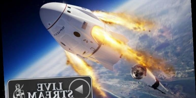 SpaceX launch LIVE stream: Watch the SpaceX Crew Dragon test with NASA live online HERE