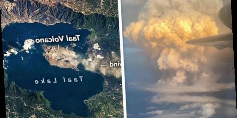 Taal volcano update: Ash plume seen from space as Philippines volcano on brink of eruption
