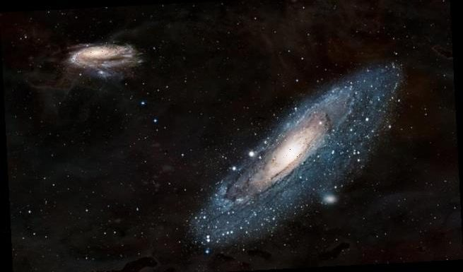 Vibrations from ancient star reveal age of galactic collision