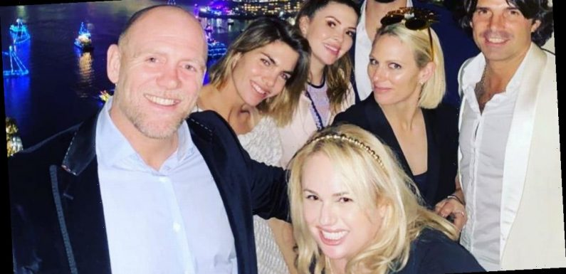 The Queen's granddaughter Zara Tindall celebrates New Year with Rebel Wilson