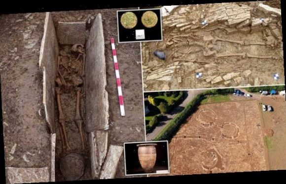 Fifty Somerset skeletons may be Britons enslaved by the Roman Empire