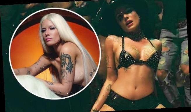 Halsey Strips Naked and Goes Blonde in New Music Video for