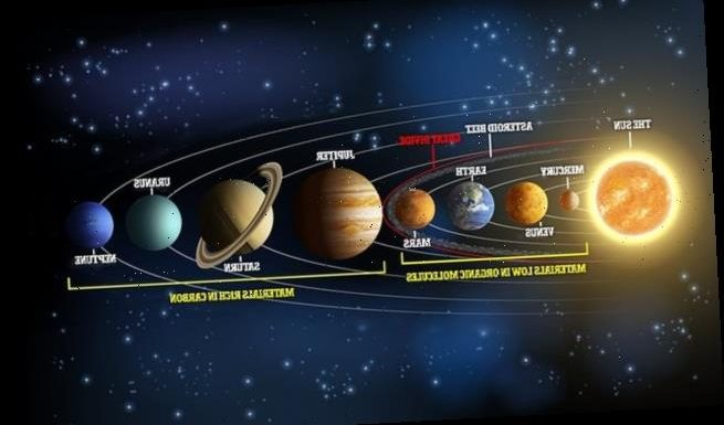 'Great Divide' in our solar system caused by pressure changes