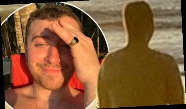 Sam Smith shares cheeky nude snap on winter getaway