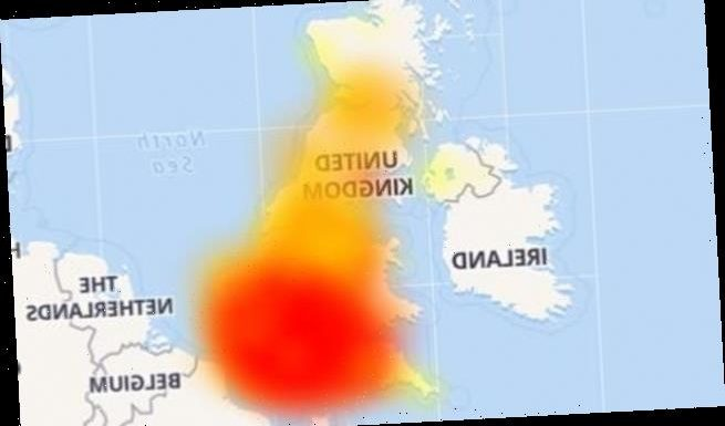 BT crashes for hundreds of users across the UK