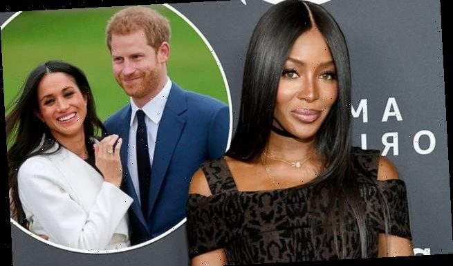 Naomi Campbell offers her support Meghan Markle and Prince Harry