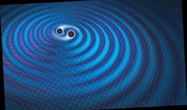 Scientists detect a mysterious burst of gravitational waves