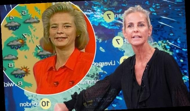 Ulrika Jonsson returns to present the weather on Good Morning Britain