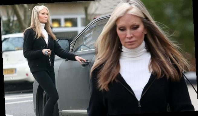 Dancing On Ice's Caprice Bourret seen after 'parting ways' with Hamish