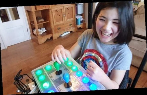 Dad creates 'adaptive controller' to allow his daughter to play games