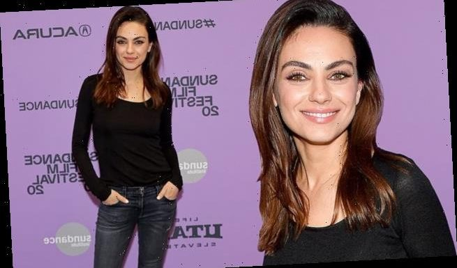 Mila Kunis attends the Sundance premiere of Four Good Days