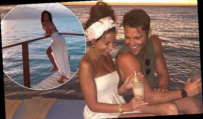 Mark Wright and Michelle Keegan enjoy scenic boat ride in Jamaica