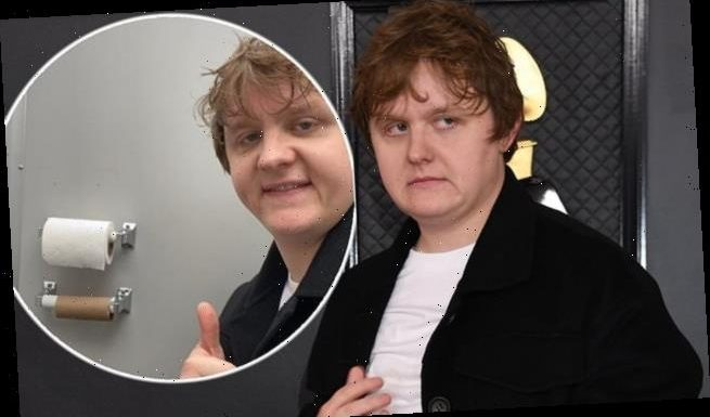 Lewis Capaldi shares snap of himself sat on the TOILET at the Grammys