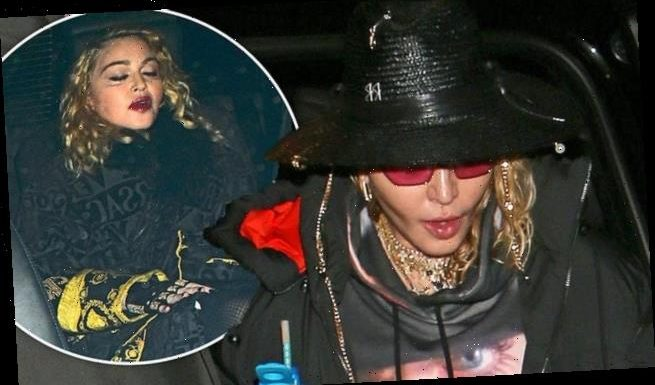 Madonna, 61, arrives at Palladium for second night of Madame X tour