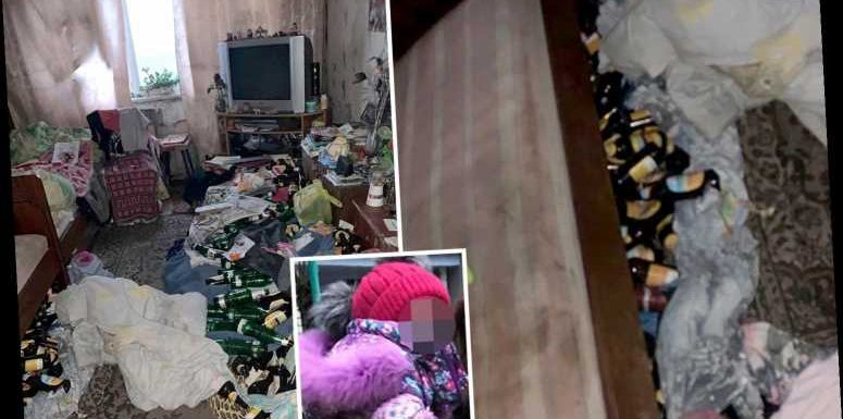 Inside filthy home where two-year-old girl starved for TWO WEEKS while parents went on massive bender – The Sun