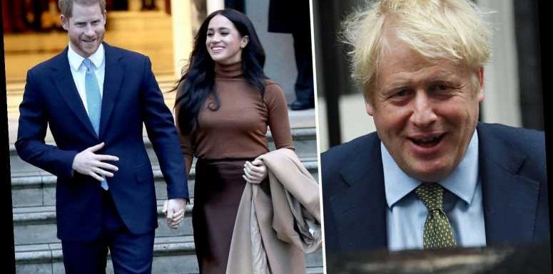 Boris Johnson urges Britain get behind Harry and Meghan as they begin life outside Royal Family – The Sun