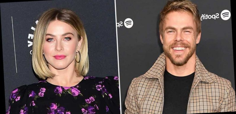Even Derek Hough Thought Julianne's Therapy Video Looked Like 'The Exorcist'