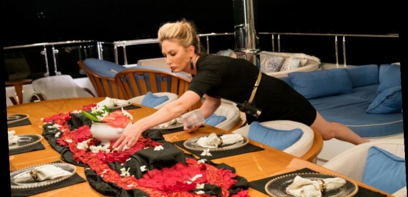 'Below Deck': What is Kate Chastain's Favorite (and Weirdest) Tablescape?