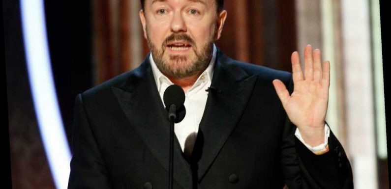 We salute Ricky Gervais for telling Hollywood's hypocritical A-list to shut up at the Golden Globes – The Sun