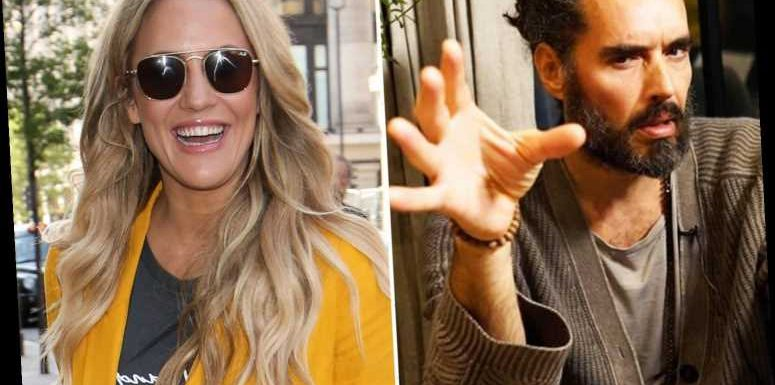 Caroline Flack's old pal Russell Brand 'invited her to a self-help seminar in LA' after assault charge – The Sun