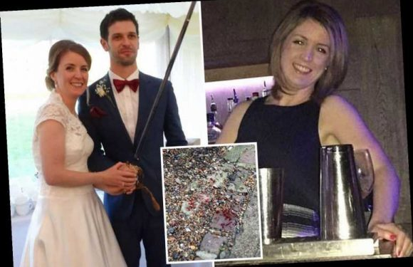 Man, 43, 'ambushed mum, 36, from behind and slashed her three times in face with kitchen knife as she pushed pram' – The Sun
