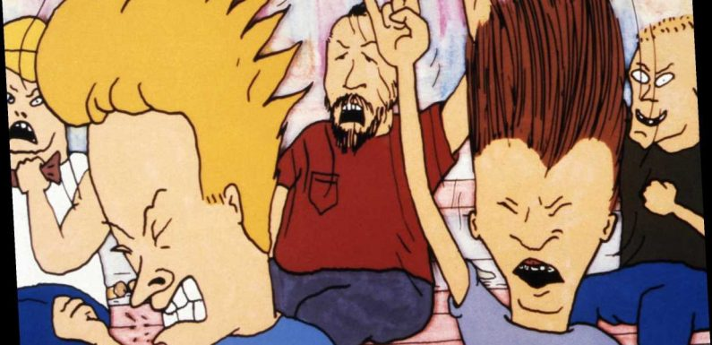 Flashback: Beavis and Butt-Head Rock Out to Nine Inch Nails