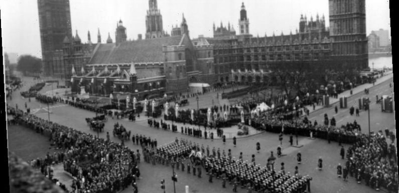 From the Archives, 1965: Winston Churchill is laid to rest in Britain