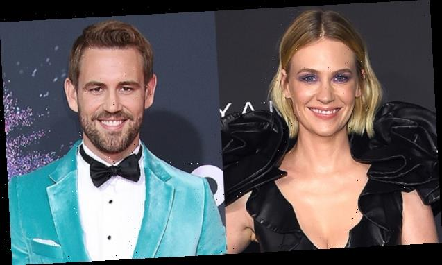 January Jones, 42, Finally Confirms She Dated 'The Bachelor's Nick Viall, 39, After He Slid Into Her DMs