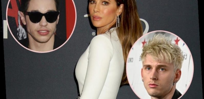 Kate Beckinsale Reportedly Spotted With Ex Pete Davidson's Pal Machine Gun Kelly At 'Multiple&#821