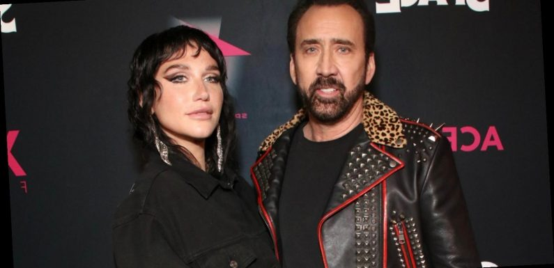 Kesha Meets Her Idol Nicolas Cage at 'Color Out of Space' Special Screening!