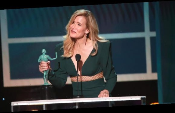 Laura Dern Thanks Her Parents While Accepting Award for Best Female Actor in a Supporting Role at SAG Awards 2020