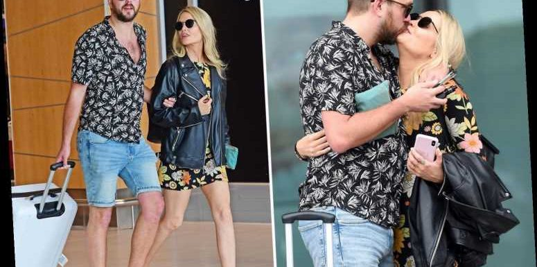 Love Island's Laura Whitmore and Iain Stirling reunite as she arrives in South Africa sparking shock dumping rumours – The Sun