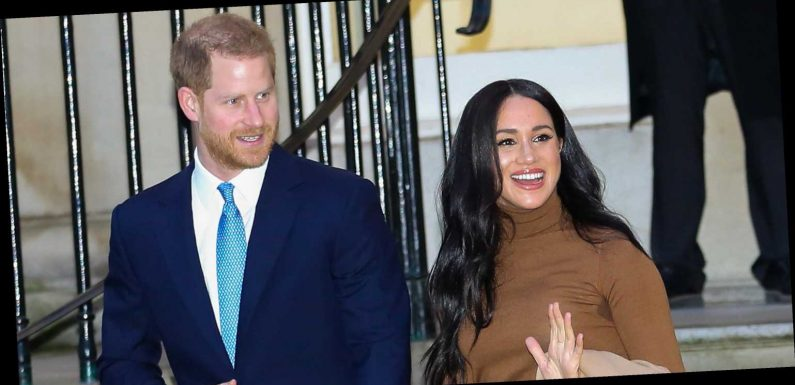 """Meghan Markle and Prince Harry's Body Language Revealed a """"United Front"""" Before They Stepped Down as Senior Royals"""
