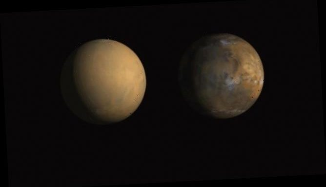 Mars' water evaporating faster than previously thought