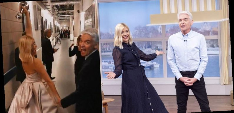 Holly Willoughby reveals moment she realised she fancied her husband and just how drunk everyone got at NTAs