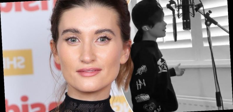 Charley Webb wows fans with incredible video of son Buster showing off his singing skills
