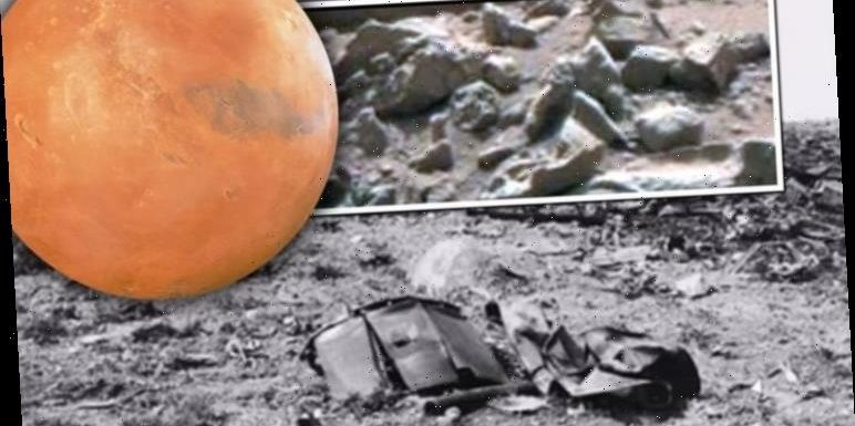NASA pics of 'plane wreckage' on Mars is identical to Roswell Crash, says expert