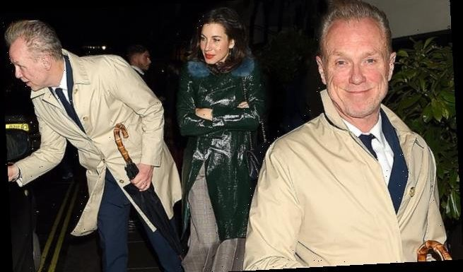 Gary Kemp, 60, is spotted enjoying a date night with wife Lauren, 42