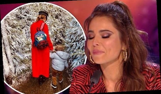 Cheryl shares rare insight into life at home with son Bear