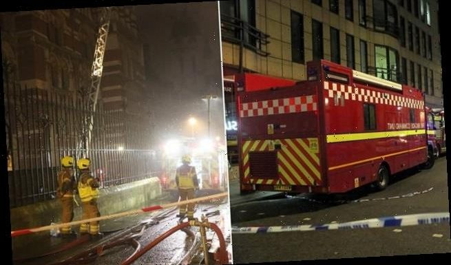 Blaze breaks out in roof of The Law Society in Holborn