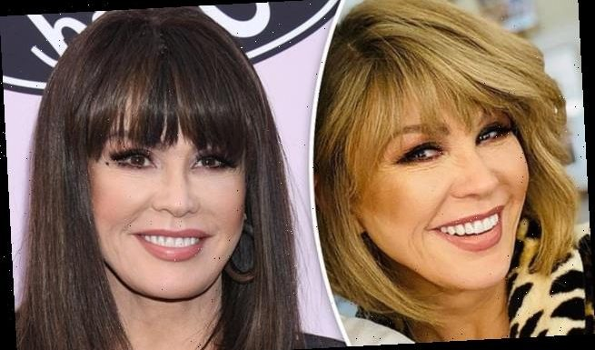 Marie Osmond says 'blondes DO have more fun' as she shows off new 'do