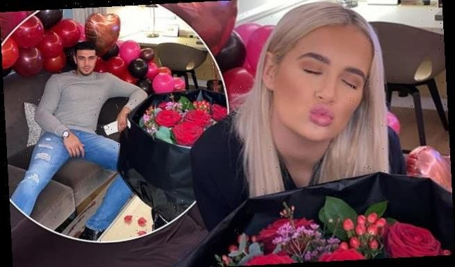 Love Island's Tommy Fury and Molly-Mae Hague enjoy Valentine's Day