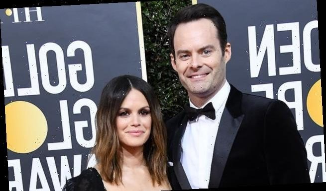 Rachel Bilson is 'very happy' with her 'hilarious' beau' Bill Hader
